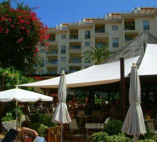 Sonnenschirme schwer aufzuspannen Hotel Viva Tropic