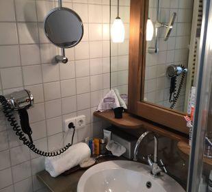 Badezimmer Hubertus Alpin Lodge & Spa