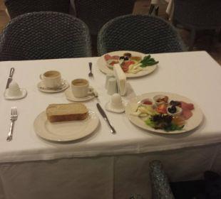 Frühstück ( All Inclusive gebucht und bezahlt! ) Martı Resort De Luxe
