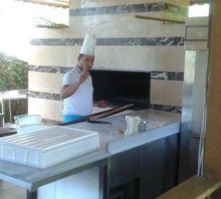 ...frisches Pide aus dem Ofen Sunis Hotels Elita Beach Resort & SPA