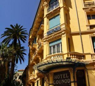 Gounod Hotel Nice: facade Hotel Gounod Nice