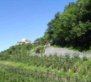 Anfahrt zur Burg Hotel Schloß Thurnstein