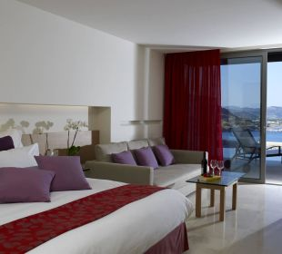 Junior Suite with Shared Pool Hotel Lindos Blu