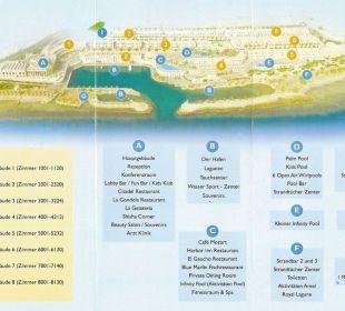 Lageplan Citadel Azur Resort