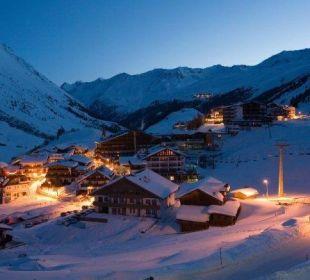 Nächtliches Obergurgl Hotel Bellevue & Austria