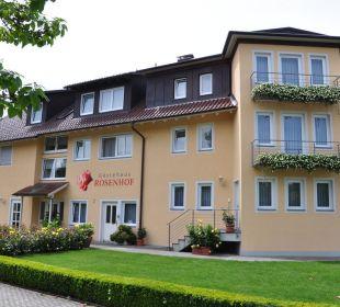Straßenansicht Gästehaus Rosenhof
