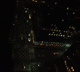 Ausblick auf Straße aus dem 34. Stockwerk Hotel Westin New York Grand Central