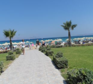 Weg zum Strand Hotel Horizon Beach Resort