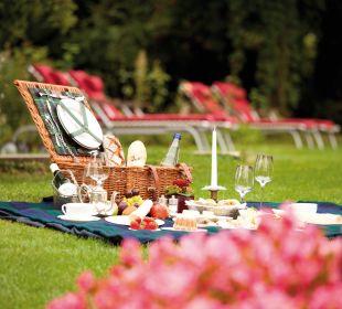 Gartenanlage Hotel Schloss Mönchstein