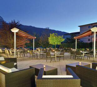 Terrasse - einzigartig für laue Sommerabe Die Gams Hotel - Resort