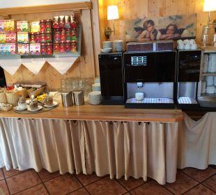 Super Kaffeeautomat und Tee Hotel Bavaria Berchtesgaden