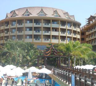 Mittelteil des Hotels Hotel Royal Dragon