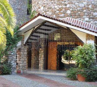 Haupteingang Martı Resort De Luxe