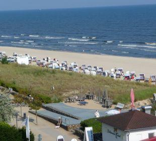 Aus dem Zimmer der Seeseite zum Strand Panorama Hotel Bansin