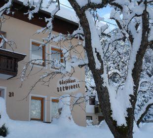 Der Winter bei uns Gästehaus Seewinkel