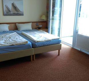 Schlafzimmer Apartments Ferienpark Weissenhäuser Strand