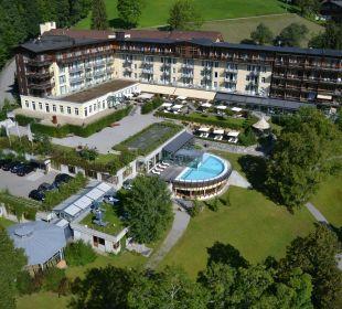 Aussenansicht Sommer Lenkerhof gourmet spa resort