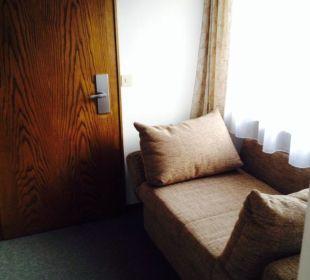 Eingangsbereich im Zimmer im alten Gebäude  Hotel Heigenhauser