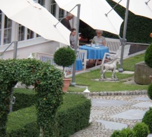 Terrasse Landhotel Rappenhof
