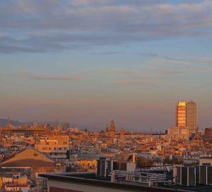 Ausblick vom Dachgeschoss Hotel Andante