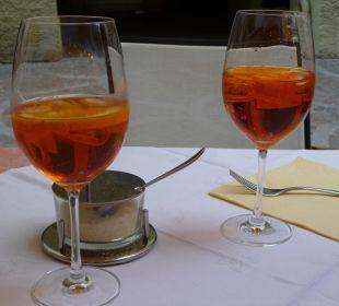 Aperol Spritz mit Prosecco Hotel Sulfner
