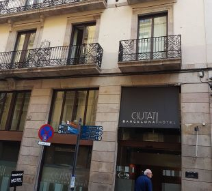 Eingang Hotel Hotel Ciutat de Barcelona