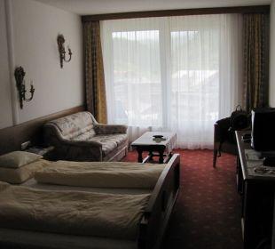 Schlaf-/Wohnraum Hotel Bellevue & Austria