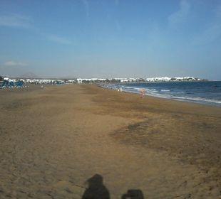 Strand am Hotel Hotel Las Costas