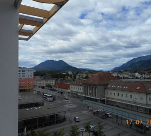 Ausblick nach links  Hotel City