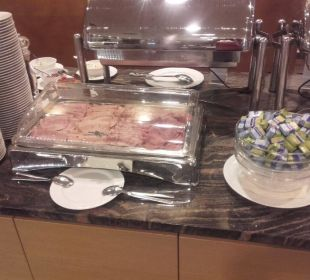 Frühstück Hotel Sole-Felsen-Bad