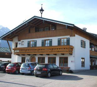 Von Anfang an Willkommen Gästehaus Watzmannblick