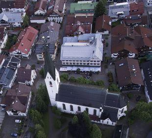 Hotel Mohrenaus der Vogelperspektive Hotel Mohren