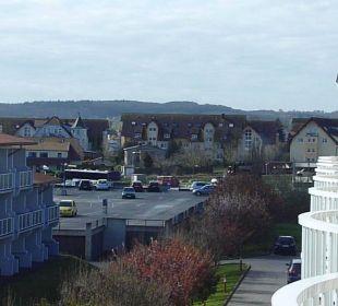 Blick vom Balkon (Landseite) Morada Strandhotel Ostseebad Kühlungsborn