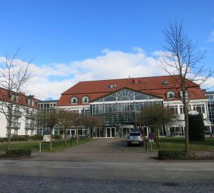 Vorderansicht Seehotel Großherzog von Mecklenburg