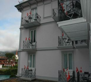 Innenhof Hotel Bellevue