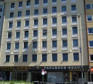 Das Hotel von außen Hotel Amba