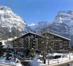 Aussenansicht Winter - Sunstar Hotel Grindelwald Sunstar Alpine Hotel Grindelwald