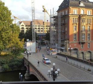 Vom Zimmer Steigenberger Hotel Hamburg