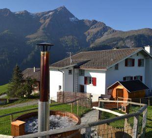 Der neue Wellness Bereich mit Sauna und Hotpot Gasthaus Alpina