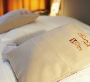 TraumZeit-Kissen in allen Zimmern Hotel Victoria Nürnberg