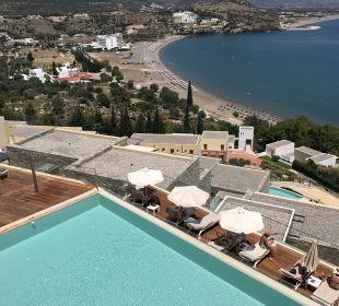 Ausblick Hotel Lindos Blu