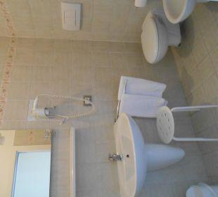 Kleines Bad - Zimmer Bergblick Hotel Villa Moretti