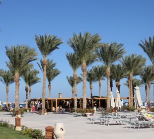 Blick zum Strand Stella Di Mare Beach Resort & Spa Makadi Bay