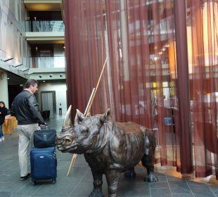 Eingang Hotel Radisson Blu Hotel Köln