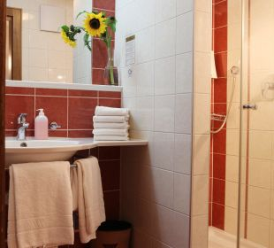 Badezimmer Hotel Landgasthof Lilie