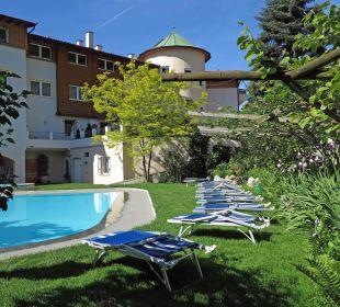 Schöne, gepflegte Gartenanlage Hotel Zirmerhof