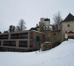 Hotel mit Burg Kreuzen Hotel Schatz.Kammer Burg Kreuzen