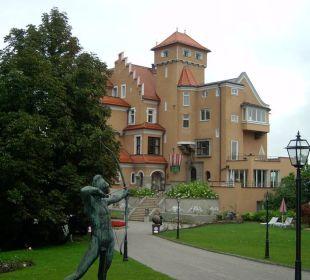 Schloss Mönchstein, Aussenansicht Hotel Schloss Mönchstein