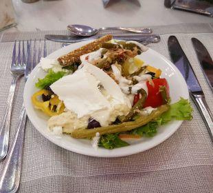 Sehr leckeres Essen Anthemus Sea Beach Hotel & Spa