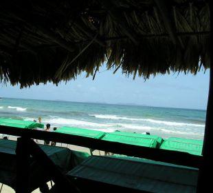 Ausblick von der Strandbar Hotel Pueblo Caribe